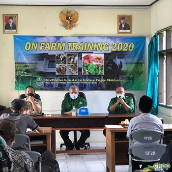 Pembukaan On Farm Training 2020 BPPKP Cikole