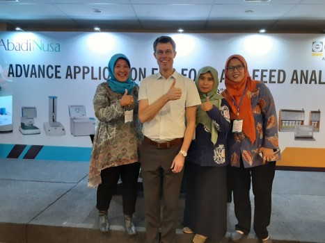 UPTD BPMKP/BP Cikole Lembang mengikuti Seminar Advance Aplication for Food and FeedAnalysis